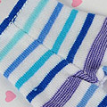 【BP-06N】Blythe Pantyhose # Stripe Mix Blue