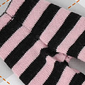 【BP-118】Blythe Pantyhose # Stripe Black+ Pink