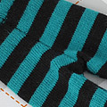 【BP-123】Blythe Pantyhose # Stripe Black+Green
