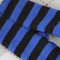 【BP-124】Blythe Pantyhose # Stripe Black+Blue