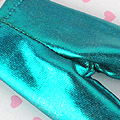 【BP-138】Blythe Pantyhose # Shiny Metallic Teal