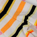 【BP-18N】Blythe Pantyhose # Stripe Mix Yellow