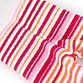 【BP-23】Blythe Pantyhose # Stripe Mix Pink