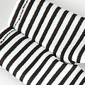 【BP-30】Blythe Pantyhose # Thin Stripe Black