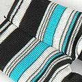 【BP-40】Blythe Pantyhose # NET Stripe Blue