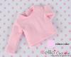 158.NA-23 Blythe Pullip 長袖Tシャツ # ピンク Pink