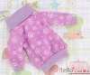 217.NI-26N Blythe Pullip プル オーバーウエア # 紫の花 Purple Flower