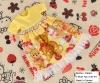 270.NI-44 Blythe Pullip ドレス (熊) # 黄色 Yellow