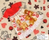 273.NI-47 Blythe Pullip ドレス (熊) # 赤色 Red