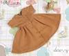 45.【NZ-2】Blythe/Pullip ドレス # 茶色 Brown