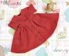 54.【NZ-3】Blythe/Pullip ドレス # クリムゾン Crimson