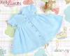 141.【NZ-6】Blythe/Pullip ドレス # ブルー Blue