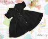 161.【NZ-8】Blythe/Pullip ドレス # 黒 Black