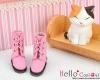 04-03 Blythe/Pullip 靴.Honey Pink 桃色