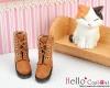 04-05 Blythe/Pullip 靴.Pale Brown 土色