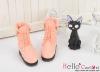 06-06 Blythe/Pullip 靴.Pink Coral ピンク珊瑚