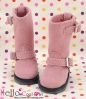 10-15N B/P Boots.Rose Violet