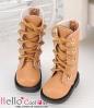 13-09 Blythe/Pullip 靴.Pale Brown 薄茶色
