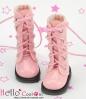 13-13 Blythe/Pullip 靴.Shiny Pink  光沢のあるピンク