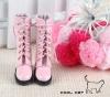14-05 Blythe/Pullip 靴.Pink 桃色
