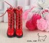 14-07 Blythe/Pullip 靴.Red 赤色