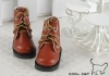 15-06 Blythe/Pullip 靴.Brown 褐色