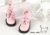 15-07 Blythe/Pullip 靴.Shiny Pink 光沢のあるピンク