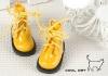 15-10 Blythe/Pullip 靴.Shiny Yellow 光沢のある黄色