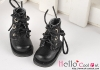 15-14_B/P Boots.Sparkly Metallic Black