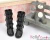 17-01 Blythe/Pullip 靴.Black 黒色