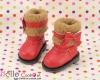 18-06 Blythe/Pullip 靴.Red 赤色