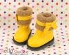 18-07 Blythe/Pullip 靴.Yellow 黄色