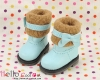 18-08 Blythe/Pullip 靴.Sky Blue 空色