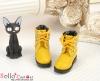 27-6 Blythe/Pullip 靴.Yellow 黄色