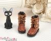 27-7 Blythe/Pullip 靴.Brown 茶色