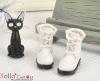 28-1 Blythe/Pullip 靴.White 白色