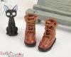 28-3 Blythe/Pullip 靴.Brown 褐色