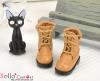 28-6 Blythe/Pullip 靴.Khaki