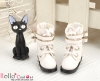 29-1 Blythe/Pullip 靴.White 白色