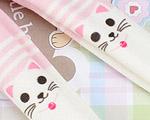 【BP-T01】Blythe 印刷タイツ Pantyhose/ Tights # 猫/ピンク Cats/Pink