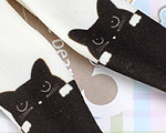 【BP-T03】Blythe 印刷タイツ Pantyhose/ Tights # 猫/黒 Cats/Black