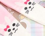 【BP-T14】Blythe 印刷タイツ Pantyhose/ Tights(ウサギ) # ピンク Pink
