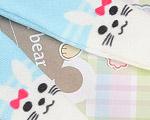 【BP-T15】Blythe 印刷タイツ Pantyhose/ Tights(ウサギ) # ブルー Blue