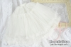 【DL-03】SD/DD チュチュスカート # Rice White