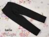 H71.【ST02】SD/DD 7分のズボン # Cotton Black 棉X黒色