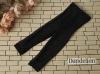 H74.【ST05】SD/DD 7分のズボン # Net Black ネットX 黒色