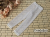 【ST06】SD/DD 7分のズボン # Mid Net White