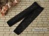 H76.【ST07】SD/DD 7分のズボン # Mid Net Black 中網目ネットX 黒色