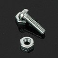 MDD ネジ Screw + Flush Nuts x 10 Sets