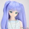 【DM-04】DD/MDD HP wigs w/Hair Pin  ウイッグ+髪のピン # ミディアムスレートブルー Medium Slate Blue